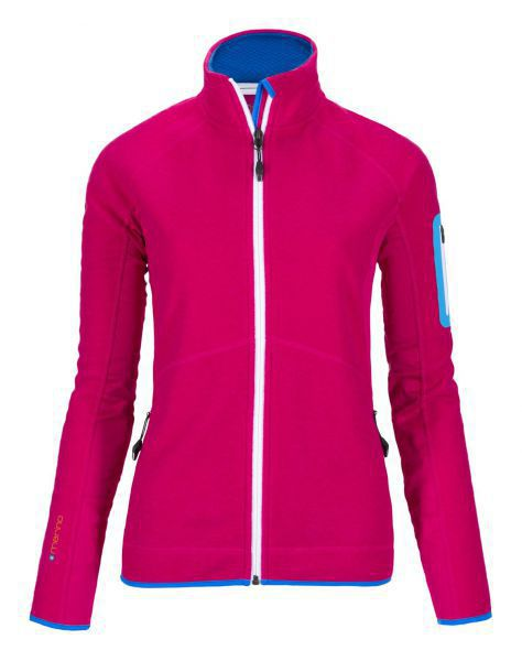 MERINO TEC-FLEECE JACKET DAMEN